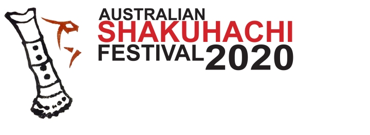 Australian shakuhachi festival 2020 logo